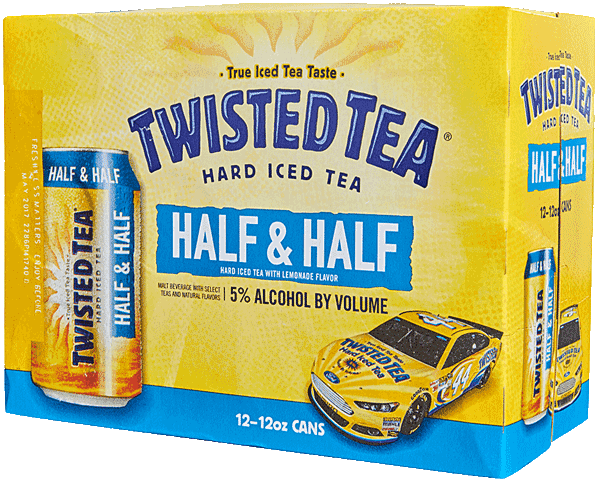 Twisted Tea Half & Half is now available in 12 packs of cans at Belknap Liquor in Superior Wisconsin
