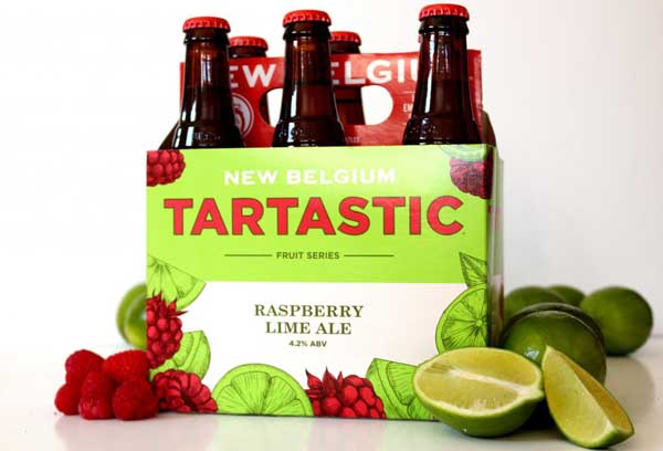 New Belgium Tartastic is now available in six packs at Belknap Liquor in Superior Wisconsin