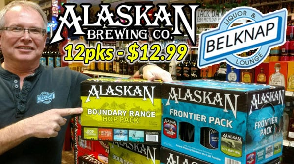 Alaskan Brewing 12 packs now on sale for $12.99