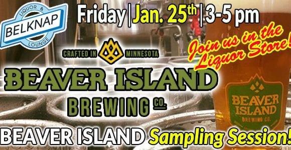 Beaver Island Beer Sampling
