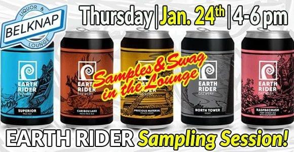 Earth Rider Sampling Session