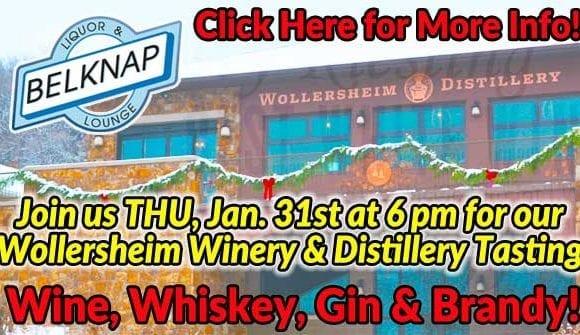 Wollershiem Winery & Distillery Tasting