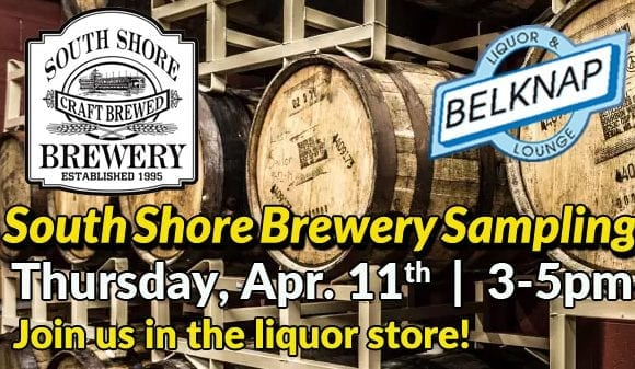 South Shore Brewery Sampling