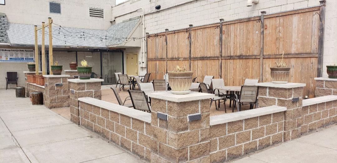 Belknap Lounge Patio